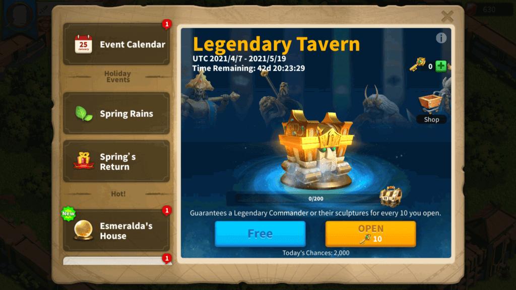 Legendary Tavern