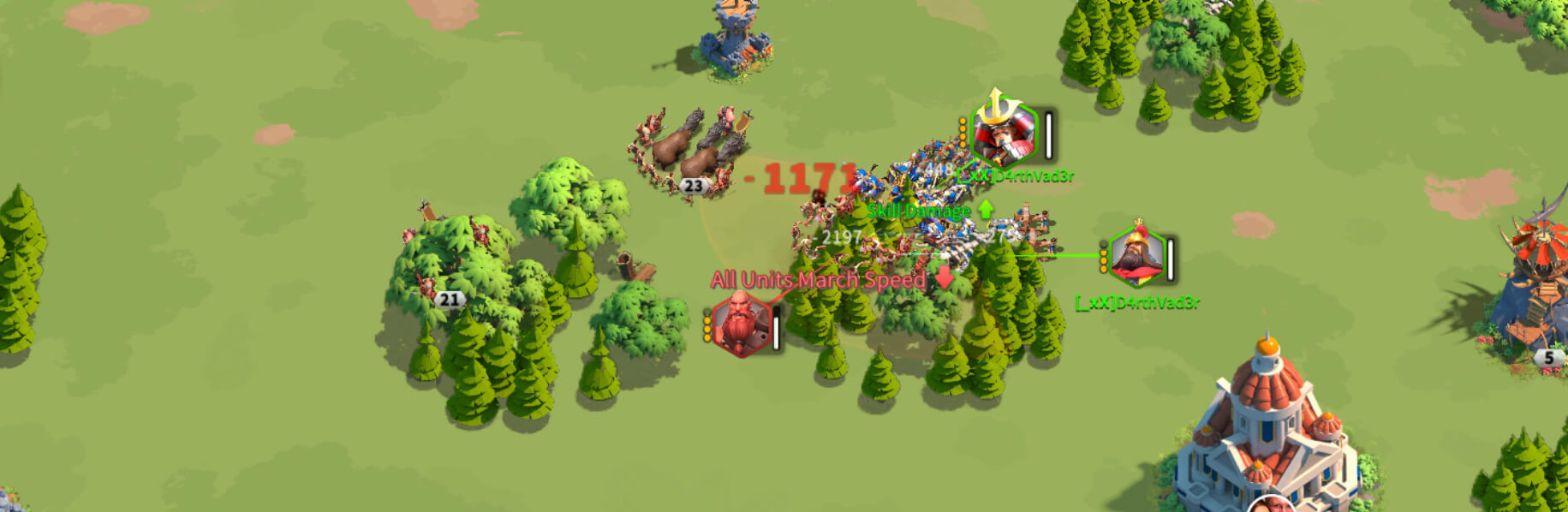 attacking barbarians