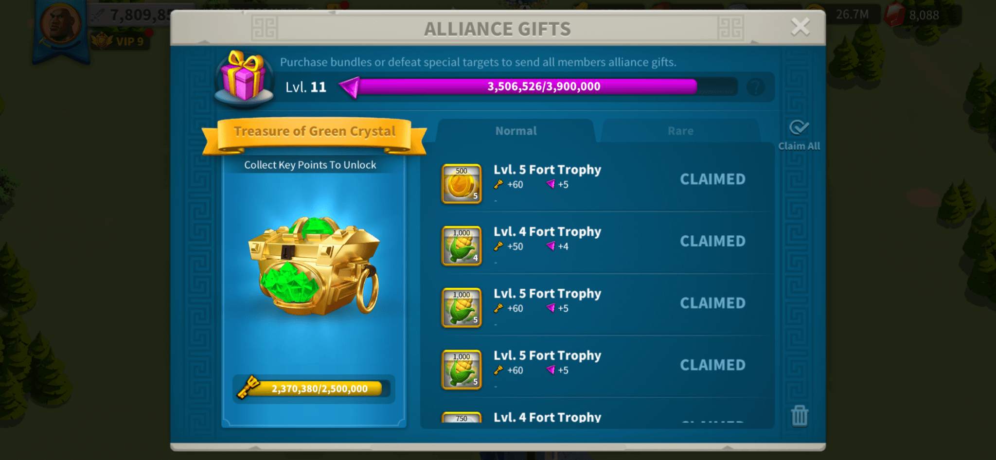rise of kingdoms alliance gifts