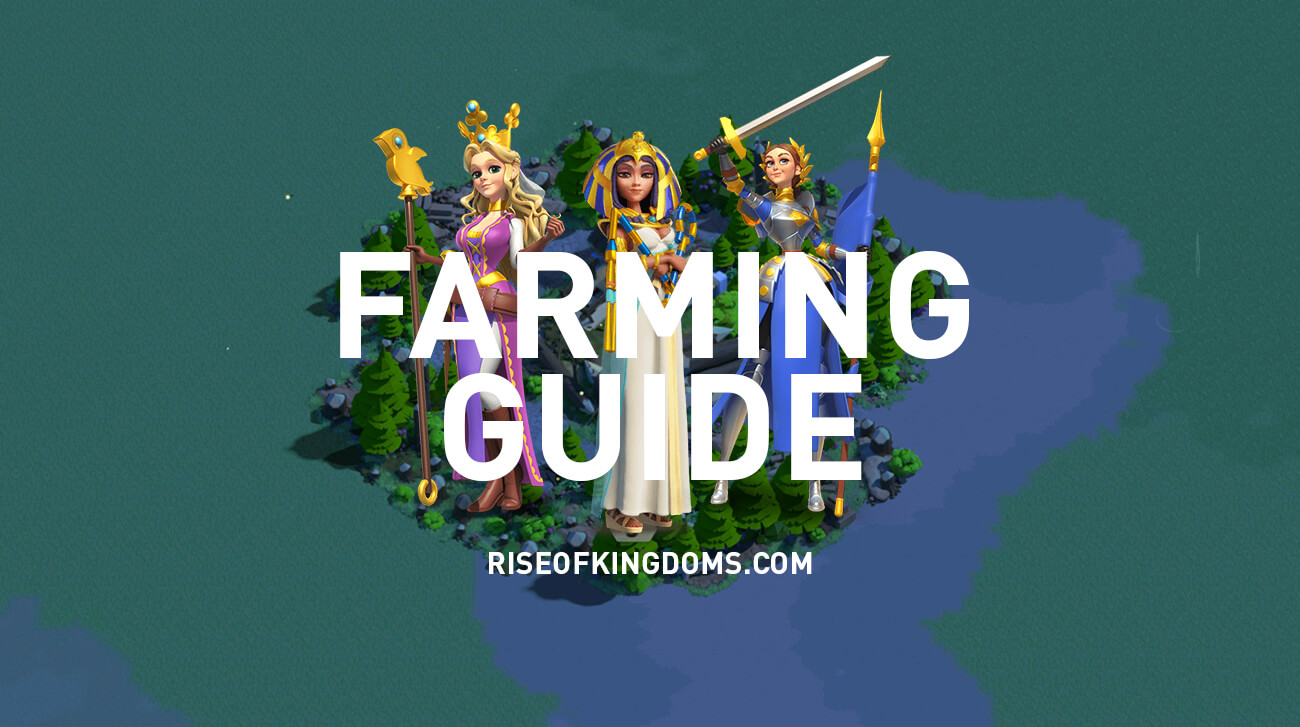 farming guide rise of kingdoms