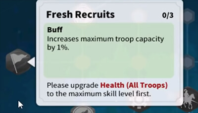 fresh recruits