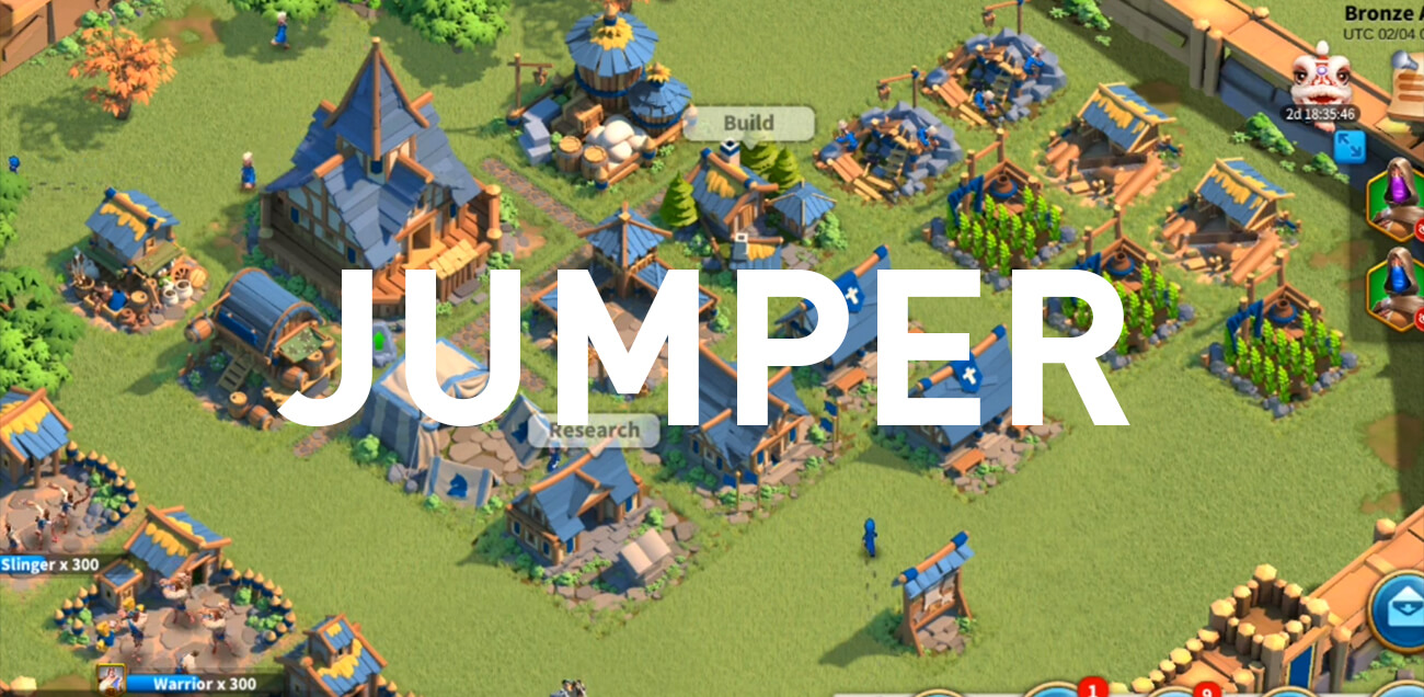 jumper account rise of kingdoms