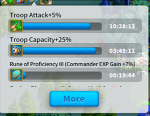 troop attack buffs