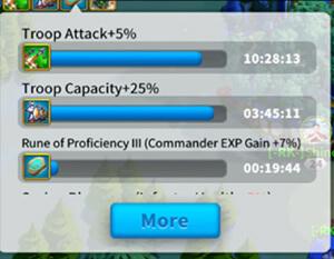 troop attack buffs