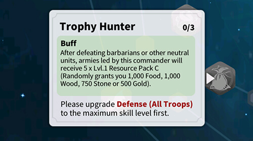 trophy hunter rise of kingdoms