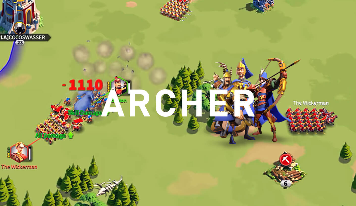 archer rise of kingdoms