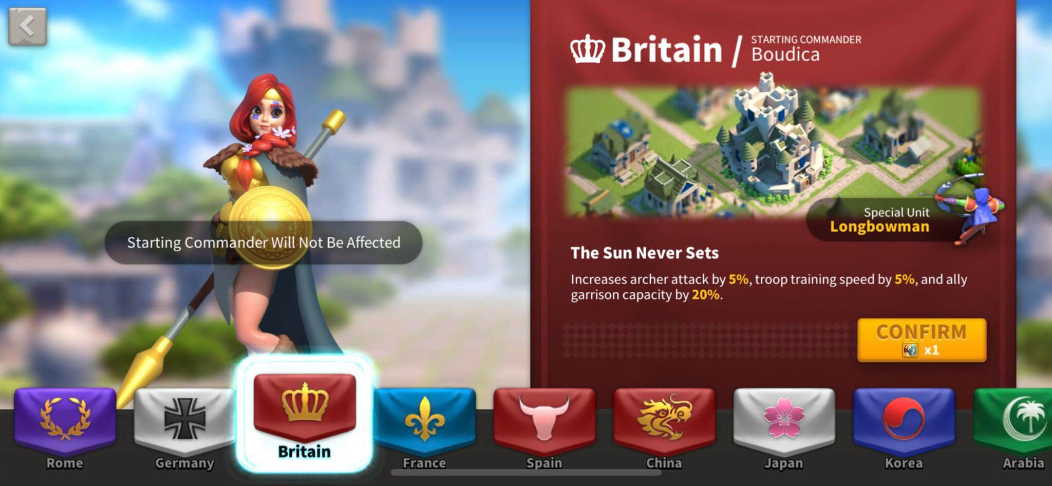 britain nation in rise of kingdoms