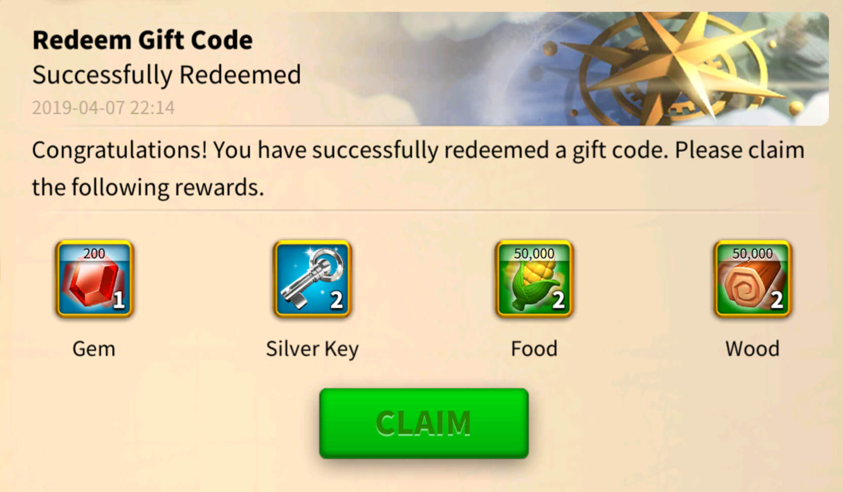Complete List of Rise of Kingdoms Gift Codes to Redeem (100% Working)