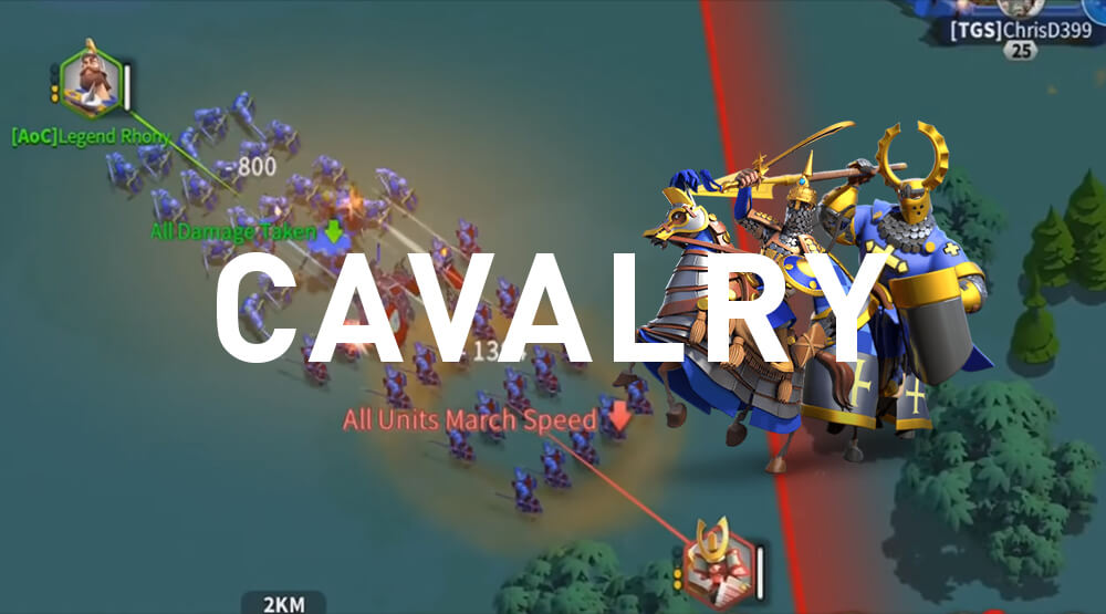 Cavalry - Rise of Kingdoms
