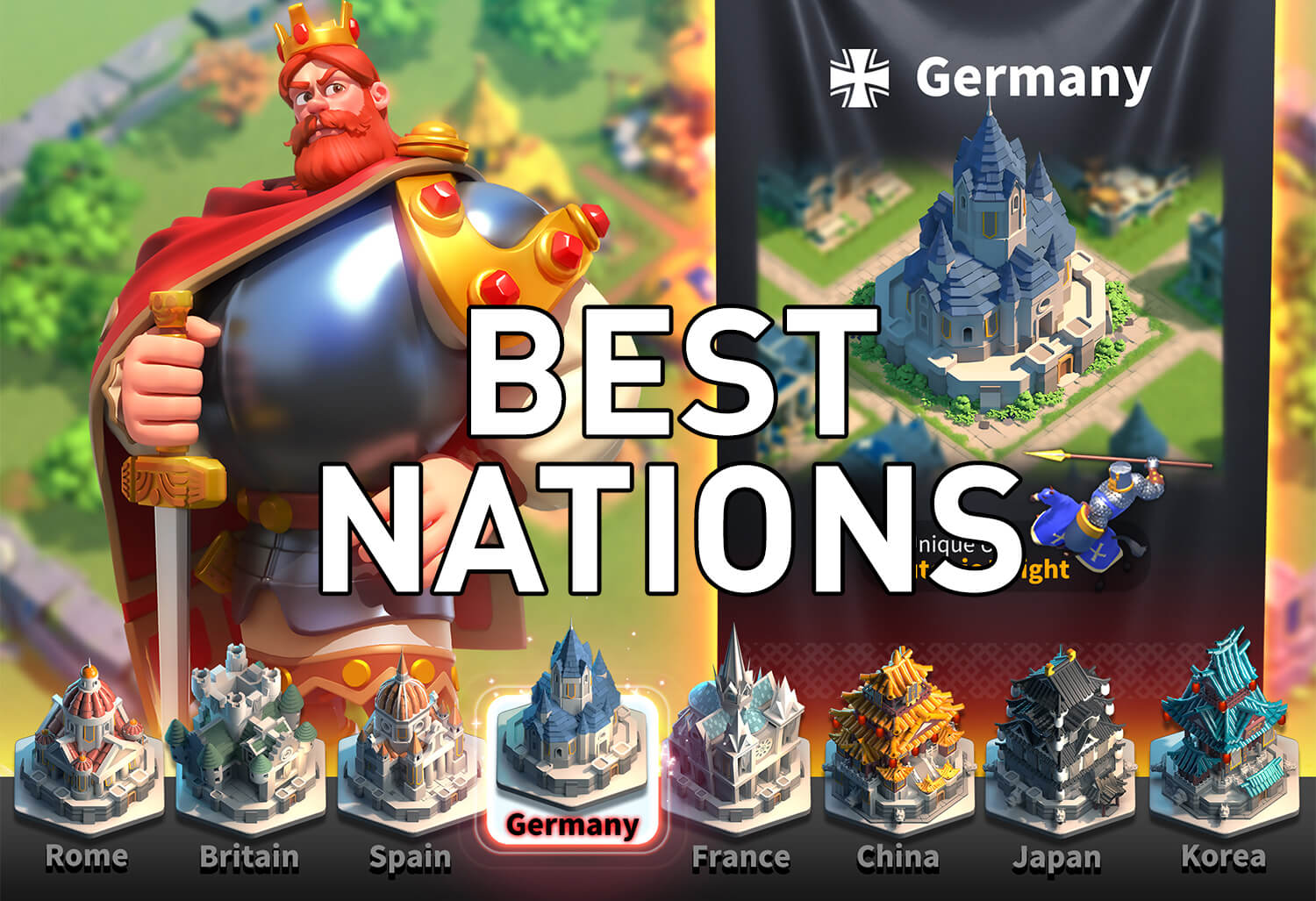 The Best Civilizations/Nations in Rise of Kingdoms (Detailed