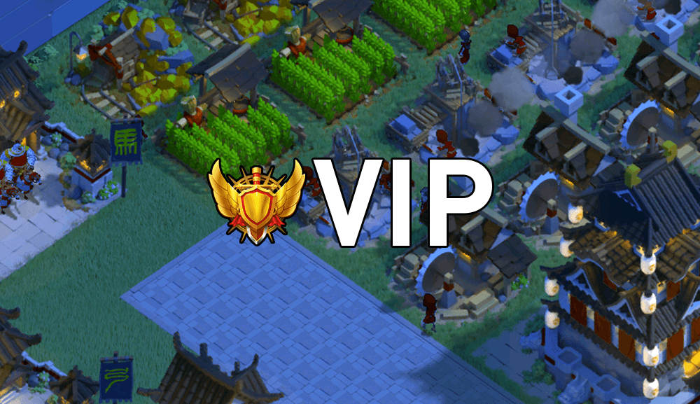 rise of kingdoms vip