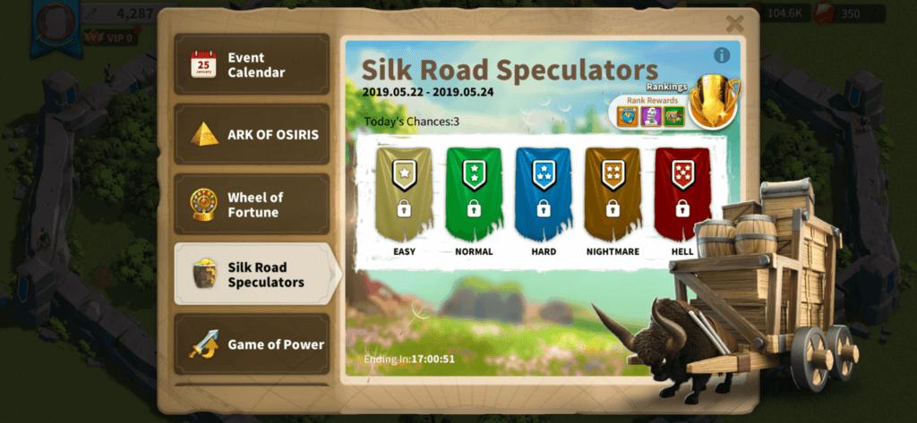 silk road speculators event