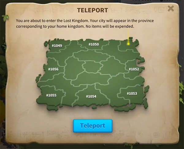 teleport confirmation
