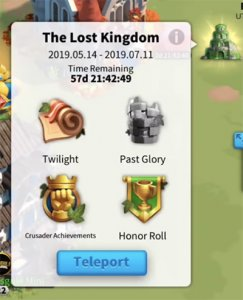 teleport the lost kingdom