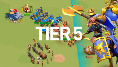 tier 5 troop rise of kingdoms