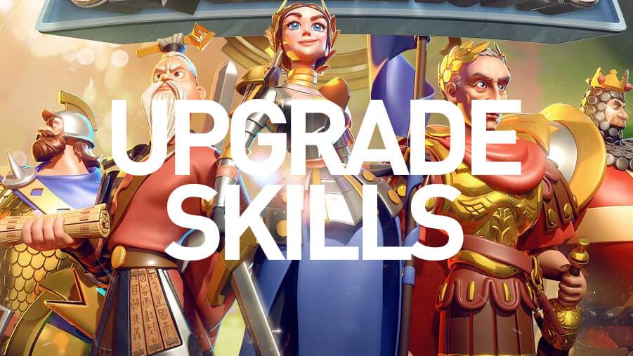 upgrade skills