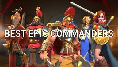 best epic commanders