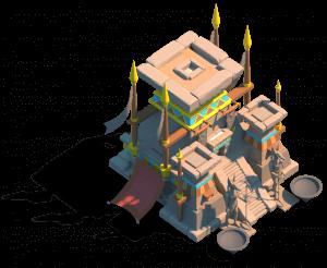 Desert Altar ark of osiris