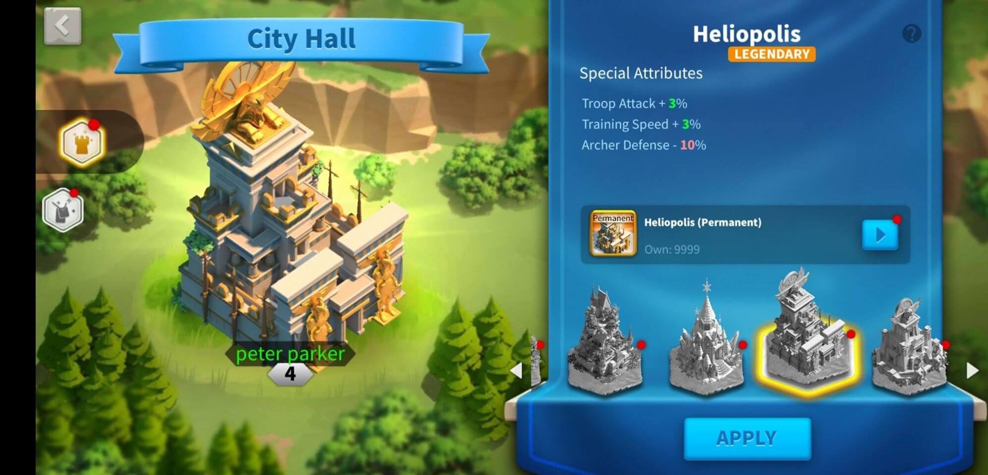 heliopolis theme