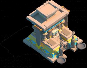 sky altar ark of osiris