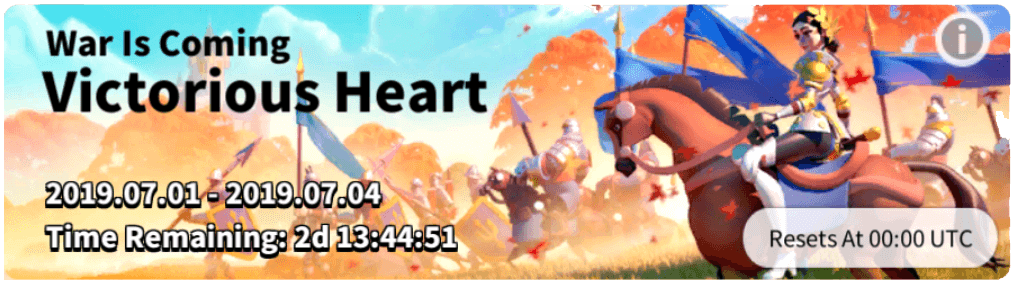 Victorious Heart Event Rise of Kingdoms