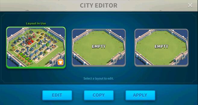 edit rise of kingdoms layout
