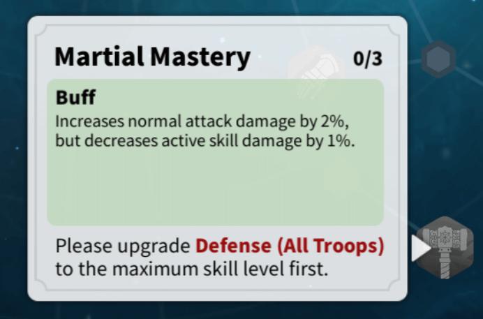 martial mastery