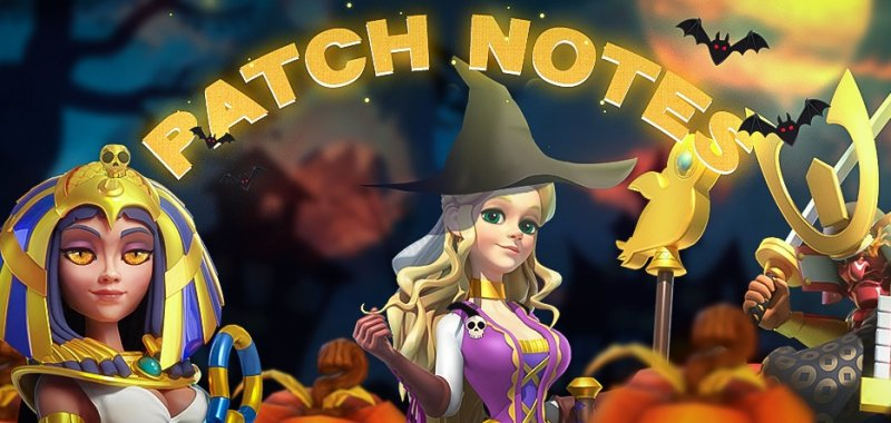patch notes halloween
