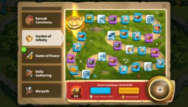Garden of Infinity Event