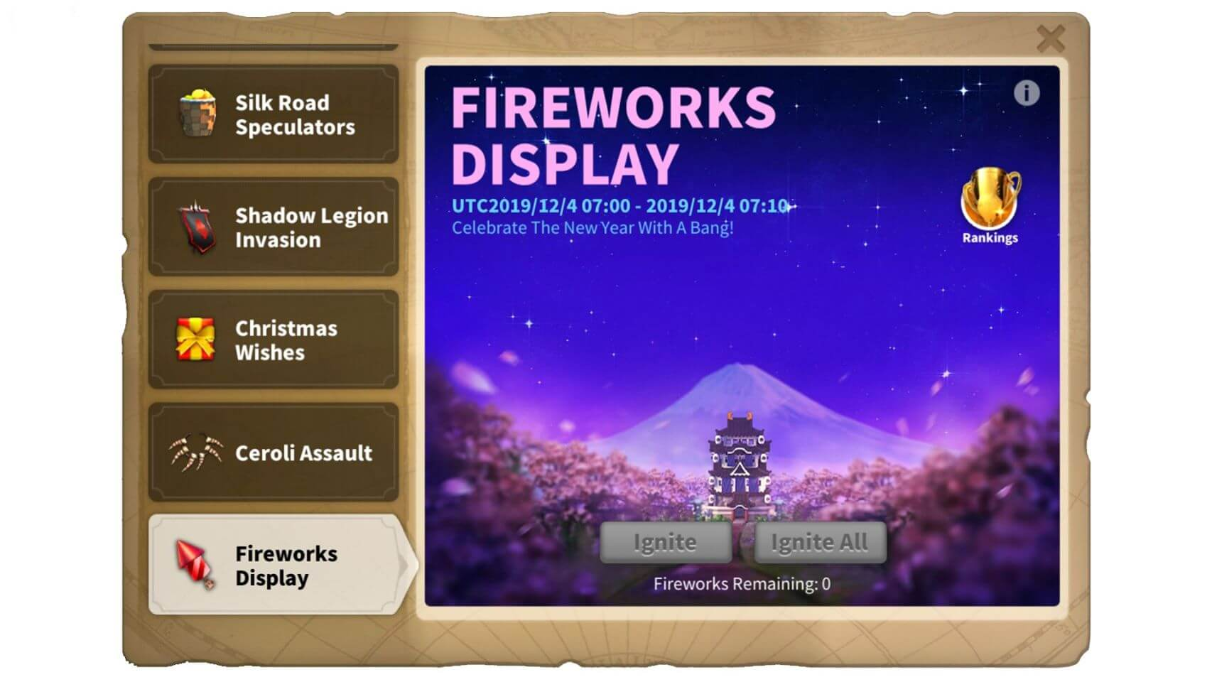 fireworks display event