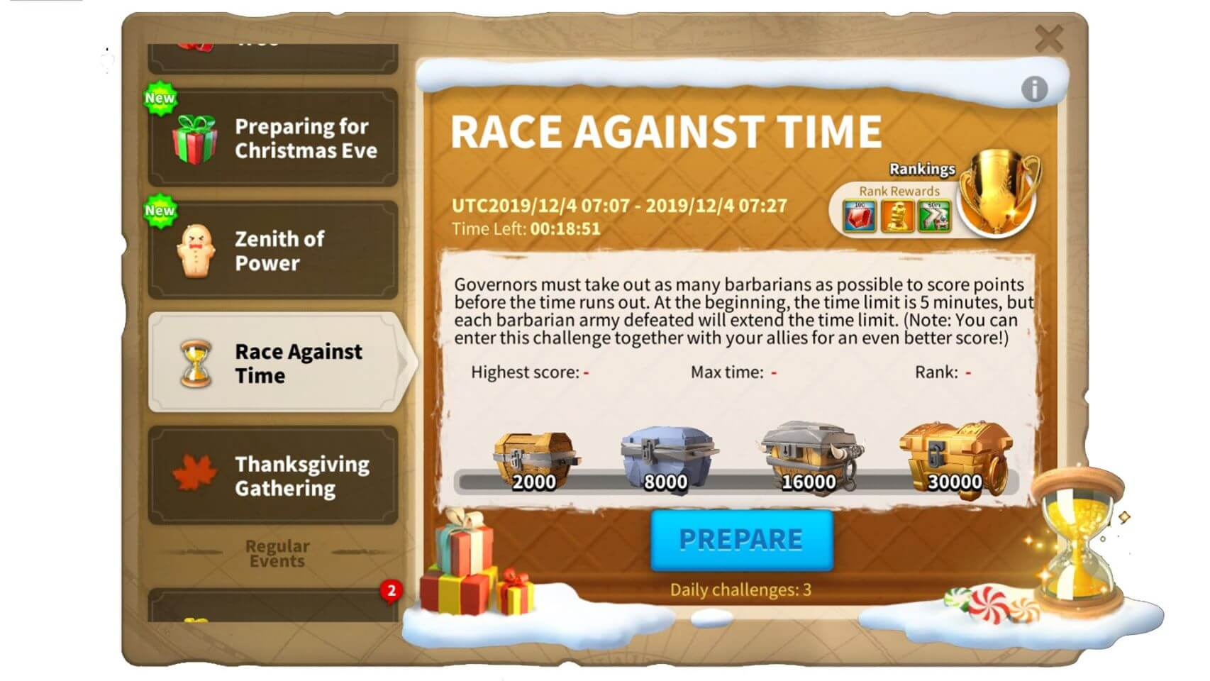 race against time event
