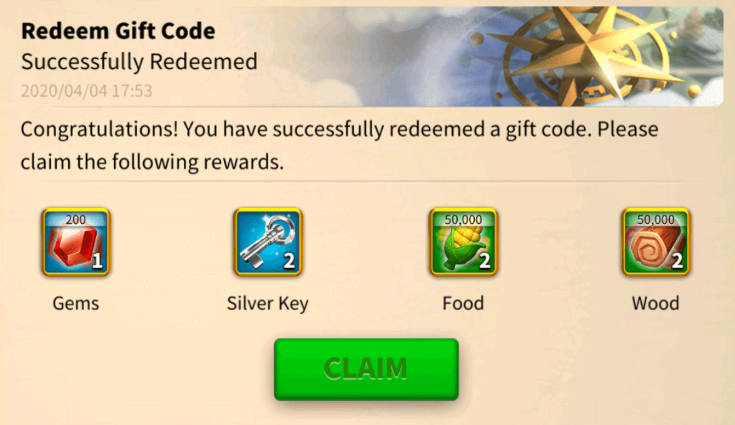 Rise of Kingdoms Gift Codes