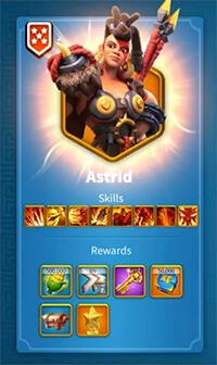 Astrid Rise of Kingdoms