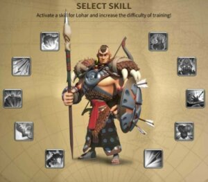 Every time you beat Lohar, you gotta unlock a new skill for him!