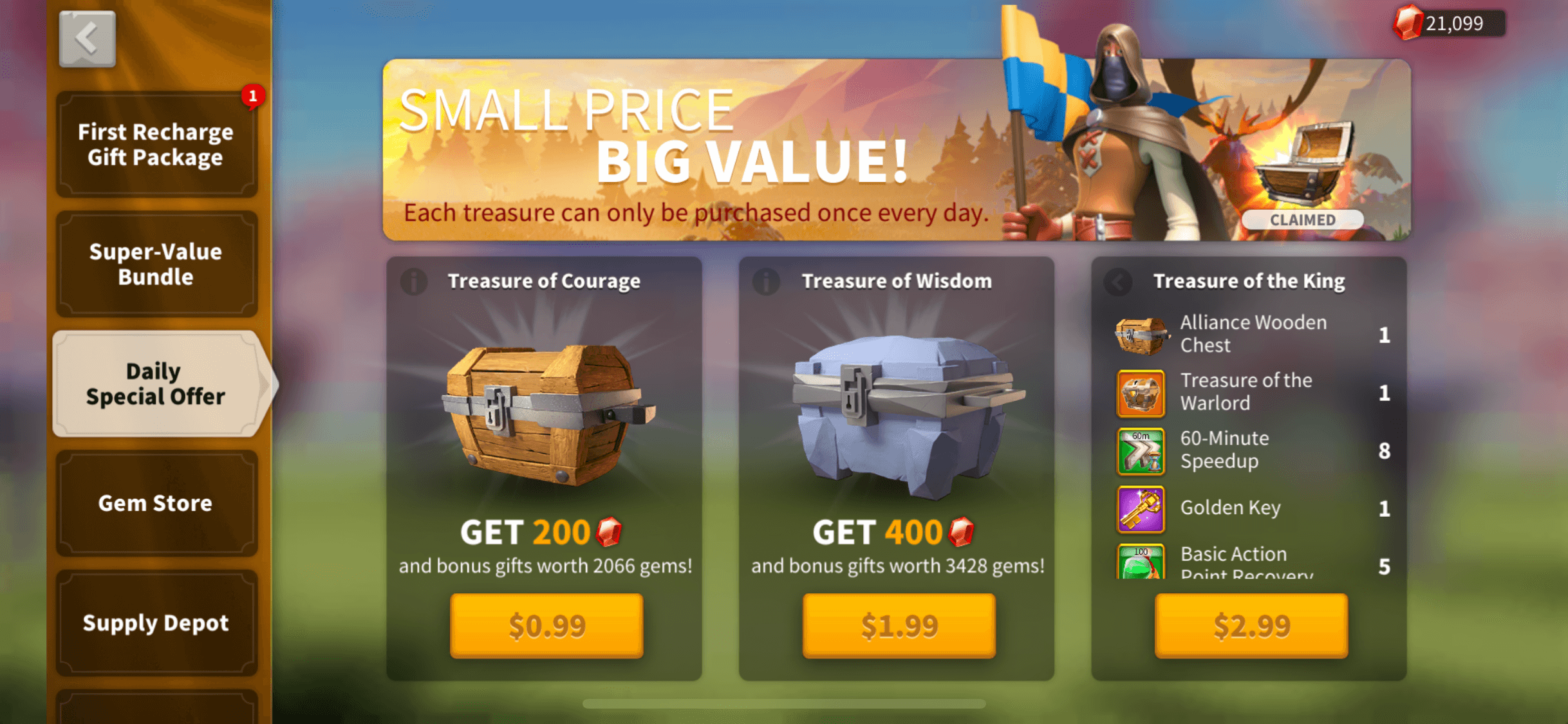daily special offers
