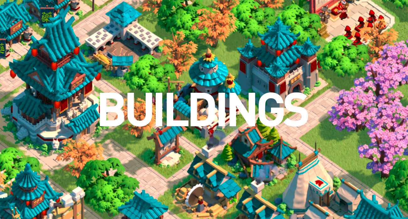 Rise of Kingdoms Buildings
