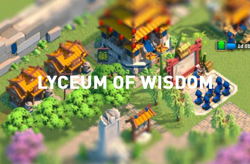 Lyceum of Wisdom Rise of Kingdoms