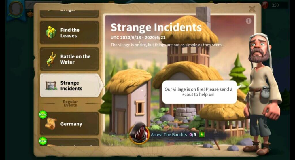 Strange Incidents