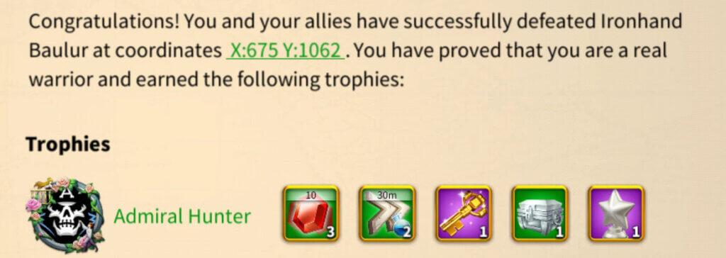 barbarian camp drop rewards