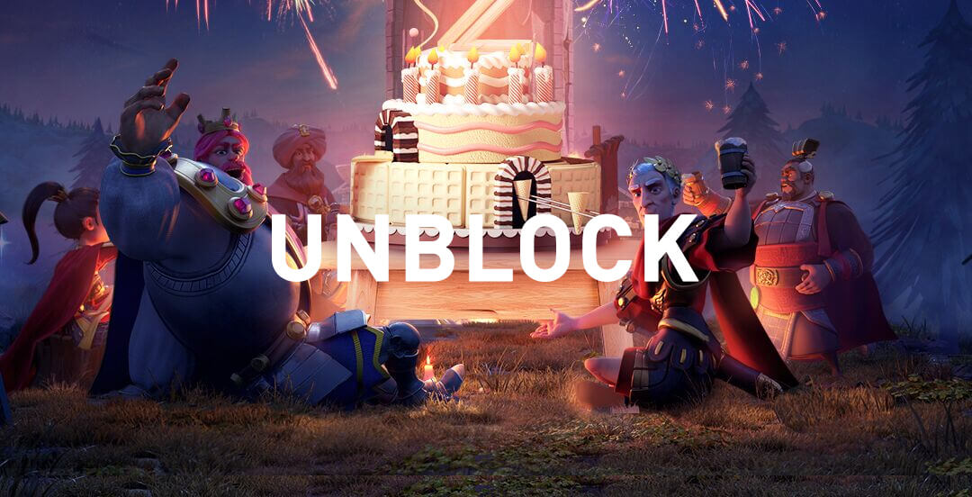 unblock banned Rise of Kingdoms india