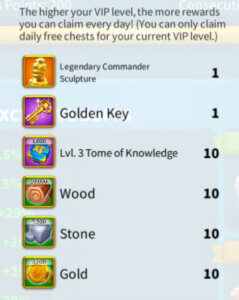 vip 10 rewards