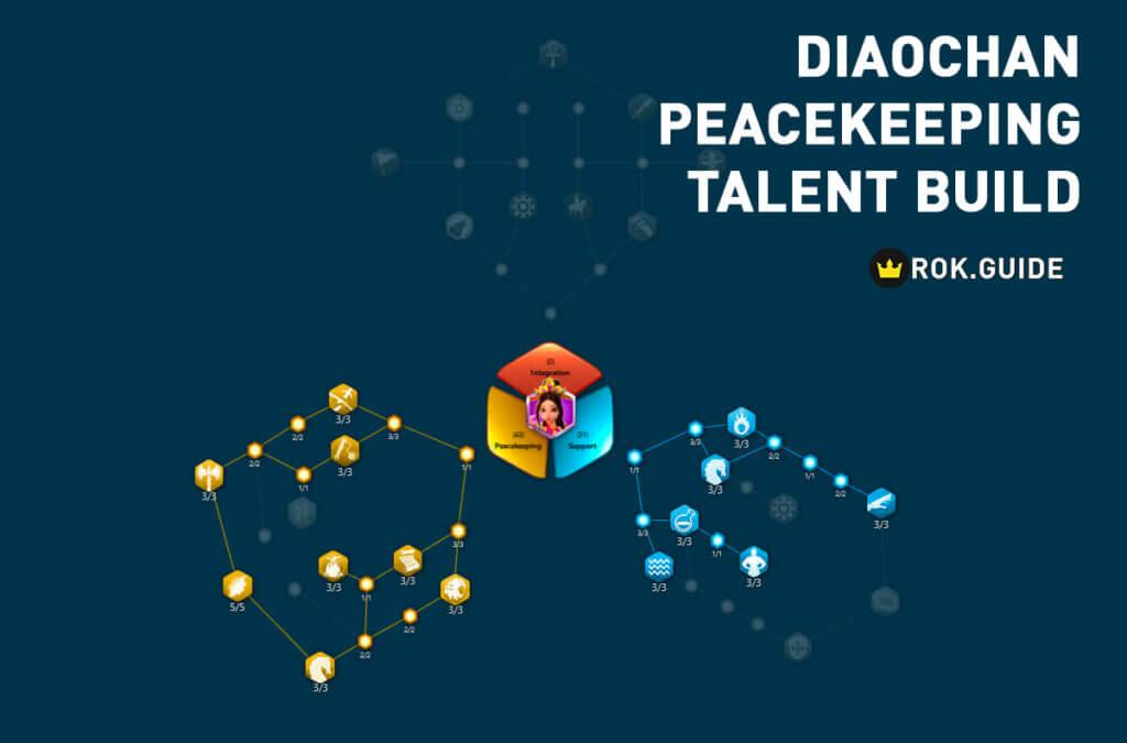 diaochan peacekeeping talent tree build