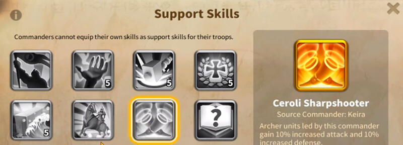 support skills