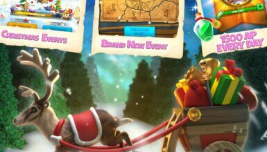 Rise of Kingdoms showy chrismas
