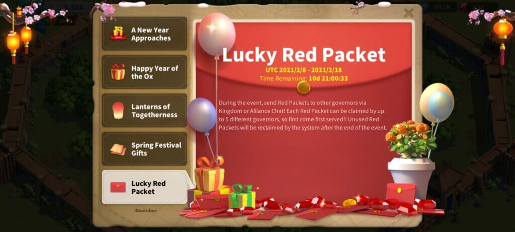 Lucky Red Packet
