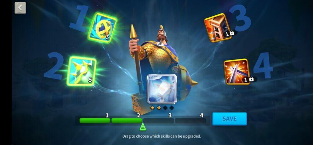 Skill Lock Function Rise of Kingdoms