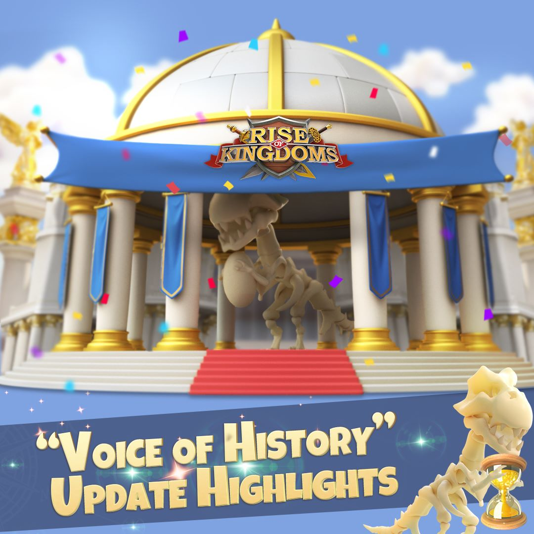Voice of History Update