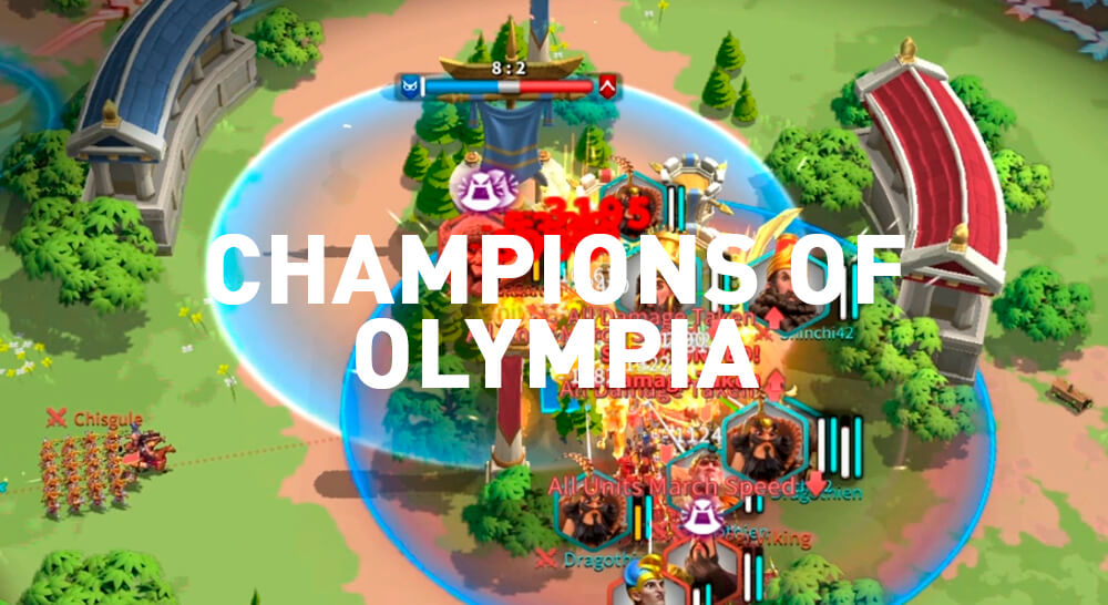 Champions of Olympia Rise of Kingdoms