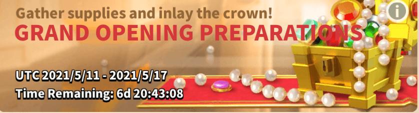 Grand Opening Preparation