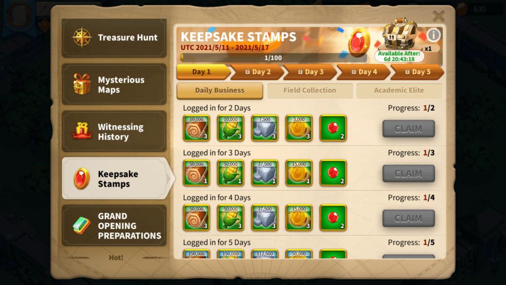 Keepsake Stamps